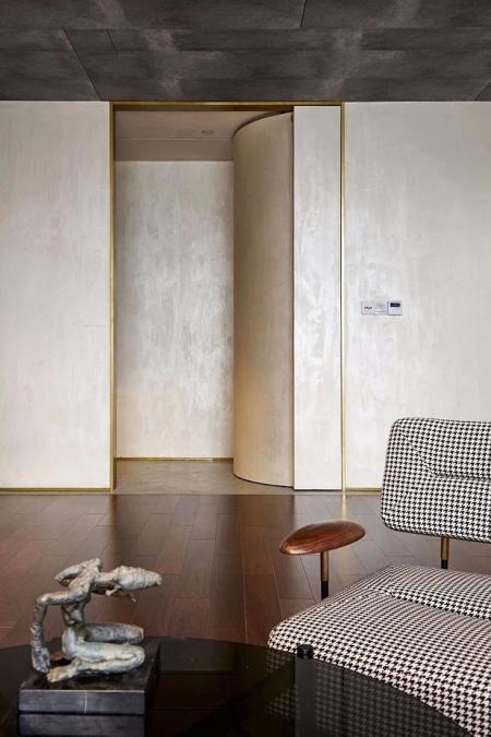 现代简约客厅布置图片