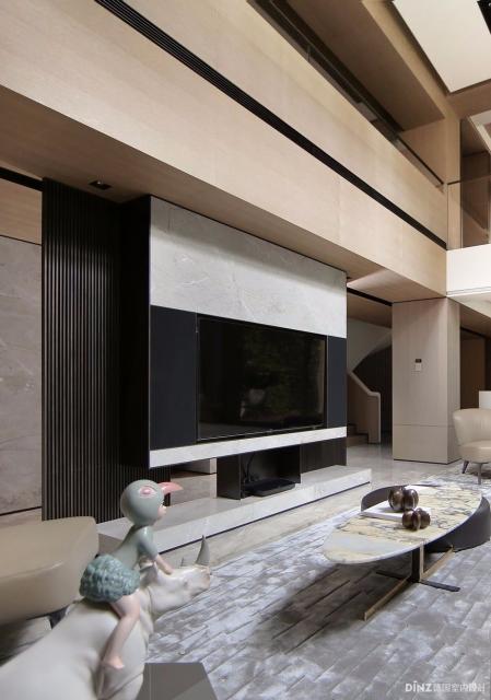 现代简约风格房间装修图片