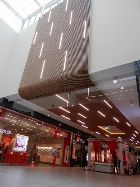 现代购物中心设计灵感来源