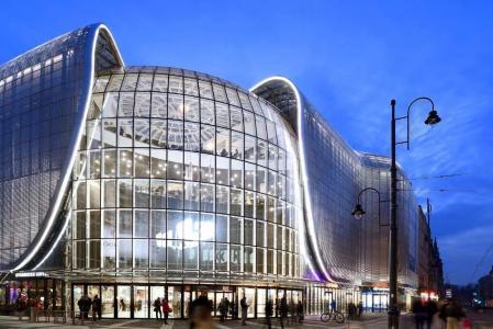 现代购物中心概念