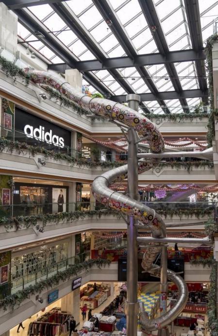 现代购物中心方案