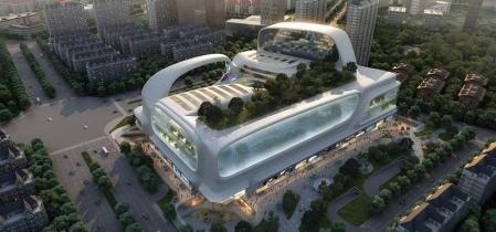 现代风格商场设计案例