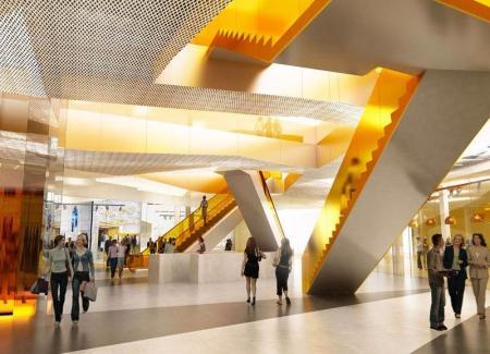 现代风格商场设计灵感