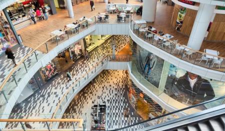 现代风格购物中心参考