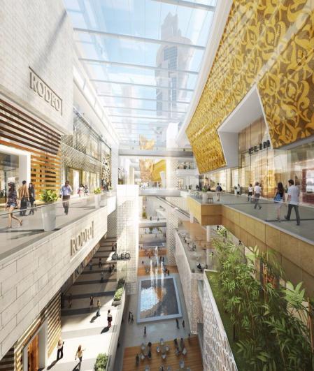 现代风格购物中心参考图片