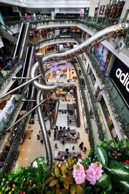 现代风格购物中心概念