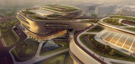 未来购物中心设计概念