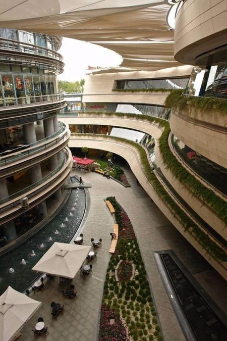 未来购物中心设计灵感来源