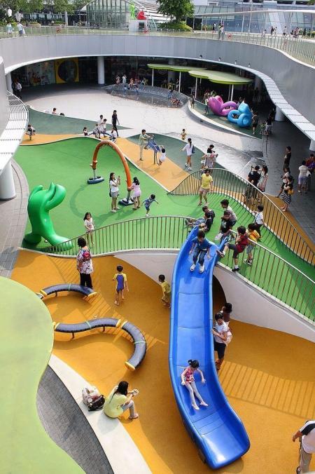 未来购物中心概念