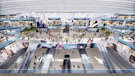未来shopping mall灵感