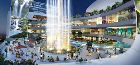 未来商场照片概念