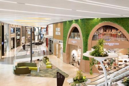 未来风格购物中心设计参考