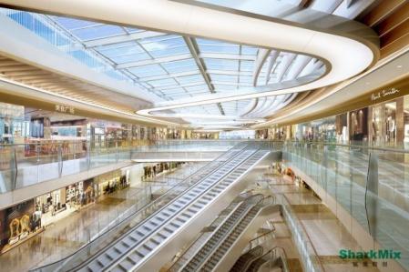 未来风格购物中心设计参考图片