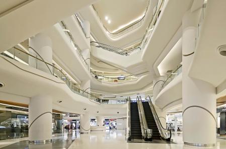 未来风格购物中心设计设计图片
