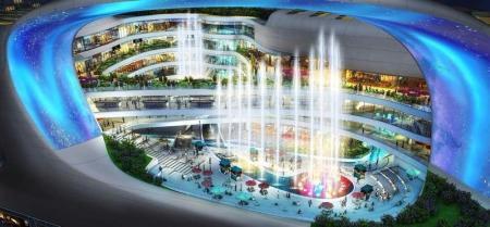 未来风格购物中心设计灵感来源