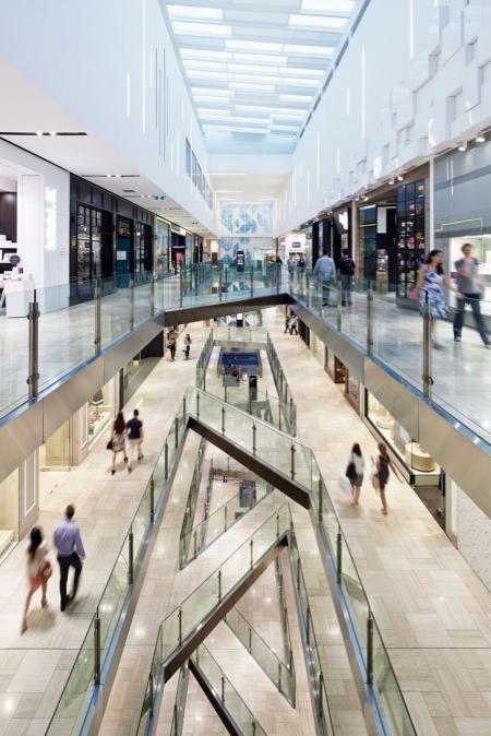 未来风格购物中心设计design