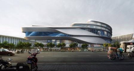 未来风格商场设计参考