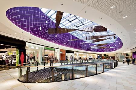 未来风格购物中心设计图片