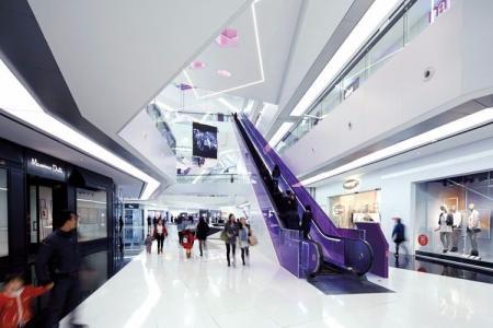 未来风格购物中心案例