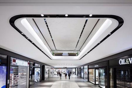 未来风格商场照片参考