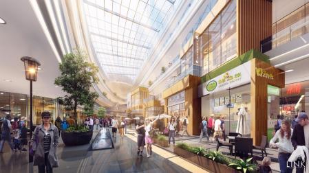 未来风格商场照片方案