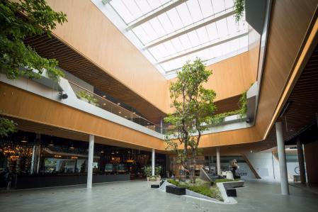 未来风格购物中心照片灵感来源