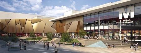 设计感购物中心设计概念