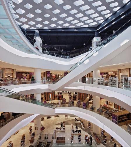 设计感shopping mall参考