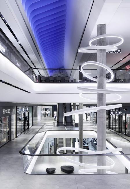漂亮的购物中心设计方案