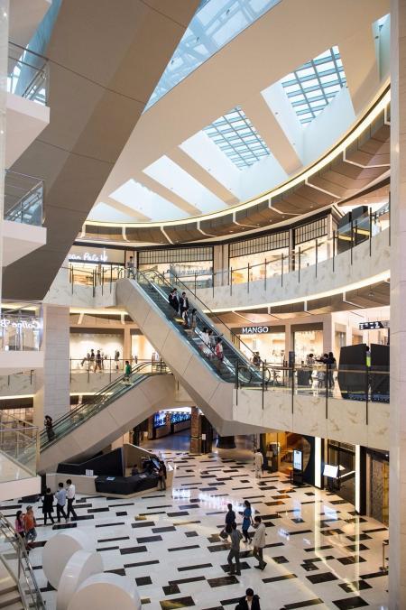 漂亮的购物中心设计灵感