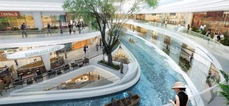 漂亮的商场设计灵感来源