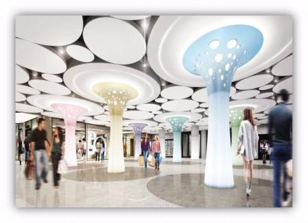 漂亮的购物中心参考