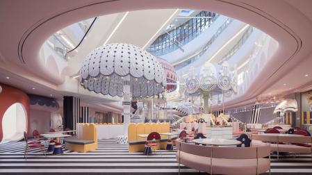 漂亮的购物中心照片大全