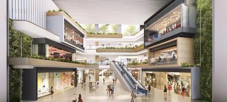 漂亮的购物中心照片design