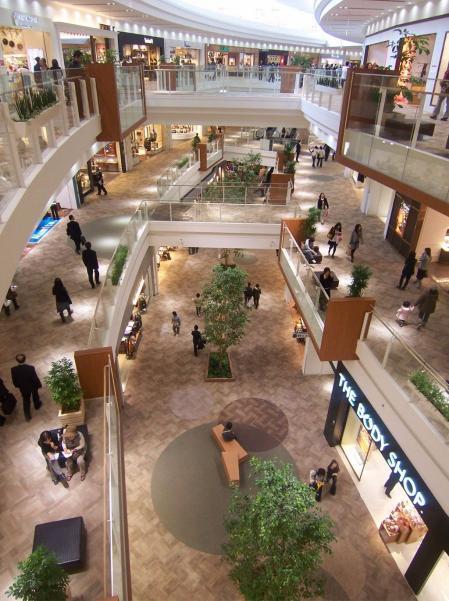 现代感购物中心设计参考图片