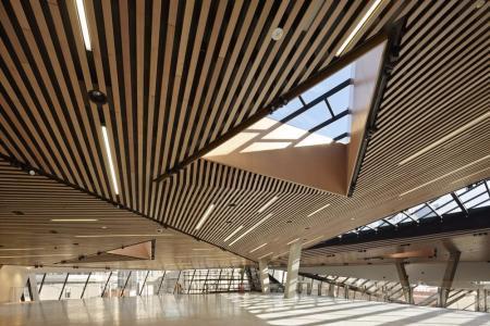 现代感购物中心设计概念