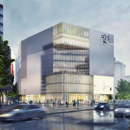 现代感购物中心设计灵感