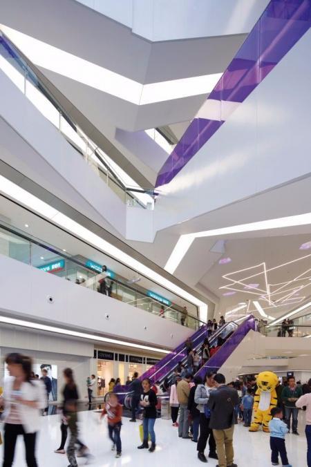 现代感购物中心设计design