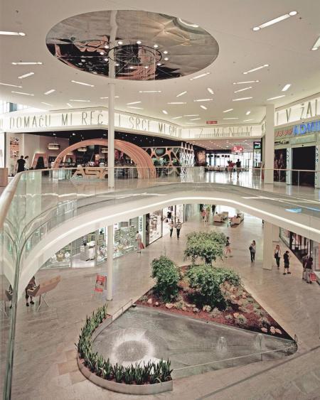 现代感商场设计参考