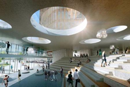 现代感商场设计概念