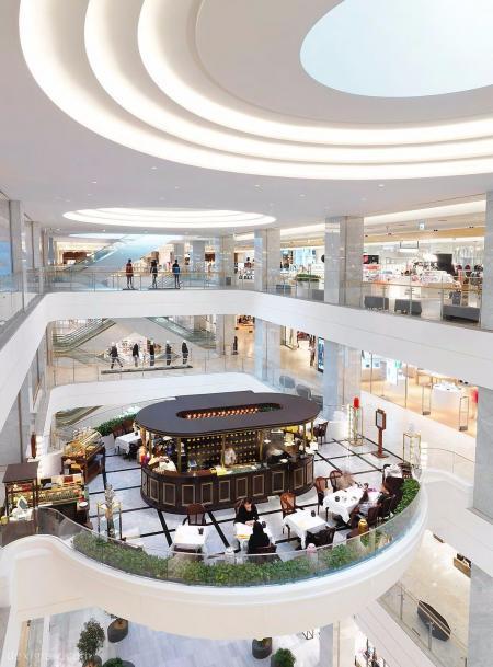 现代感商场设计设计图片