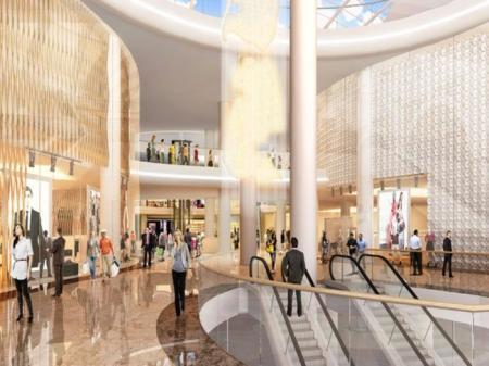 现代感购物中心设计图片