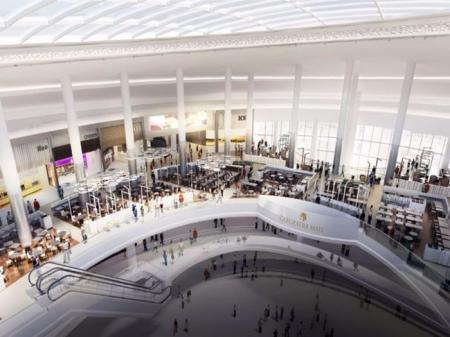 现代感购物中心概念