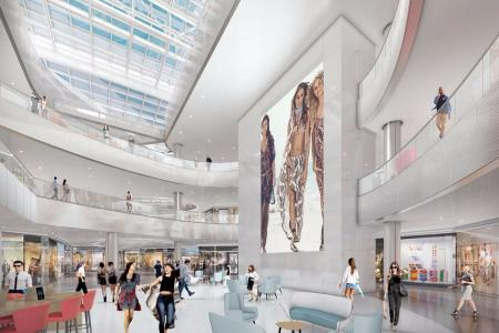 现代感购物中心design