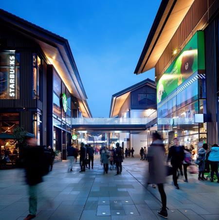 现代感shopping mall案例