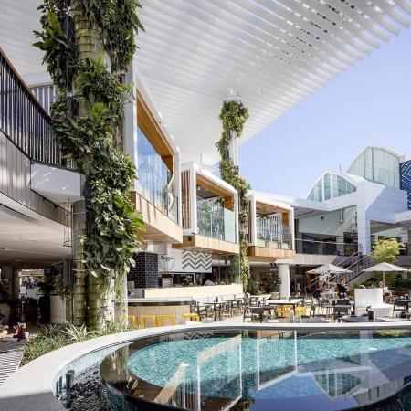 现代感shopping mall灵感