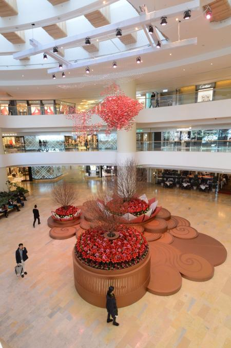 现代感shopping mall灵感来源