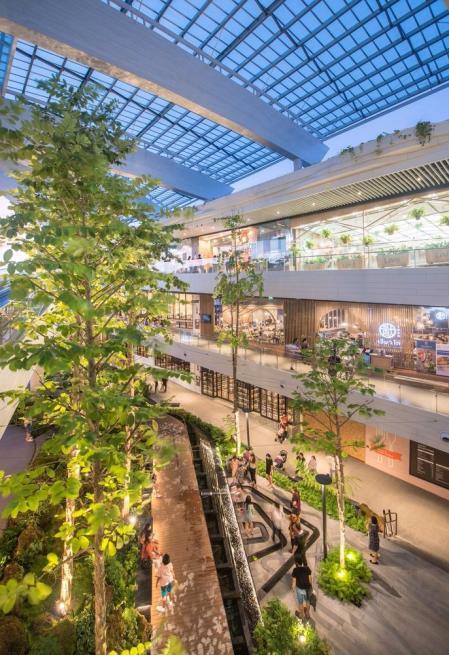 现代感商场照片参考