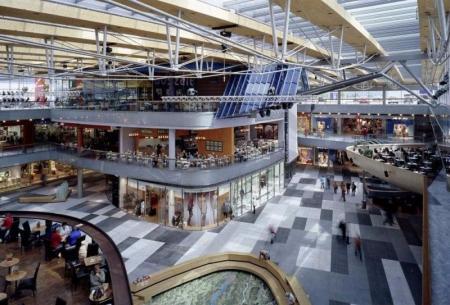 现代感商场照片概念