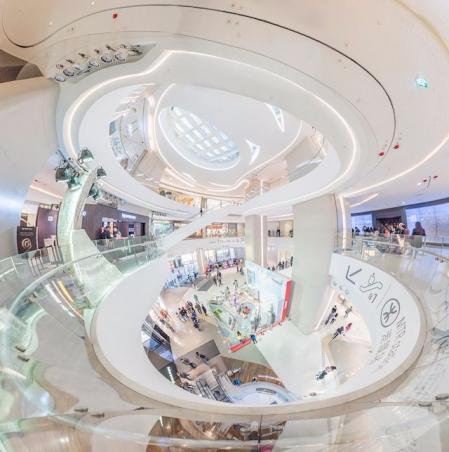 现代感商场照片方案